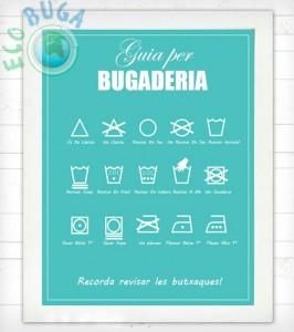símbols de rentat de roba ecobuga