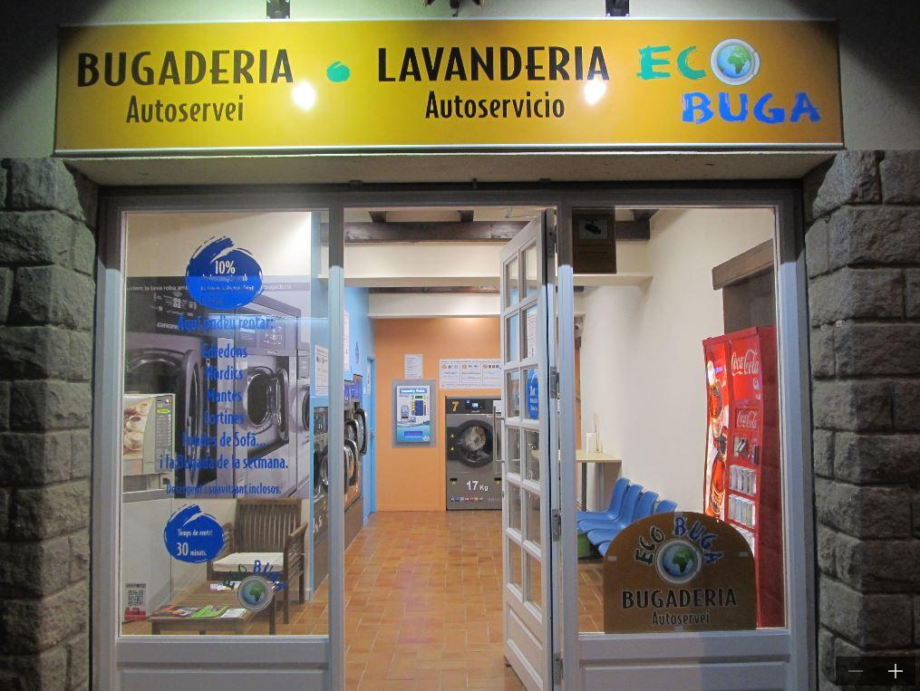 bugaderia autoservei Puigcerdà pons i gasch