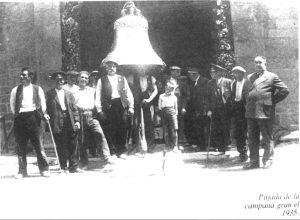 campana del campanar de Puigcerdà
